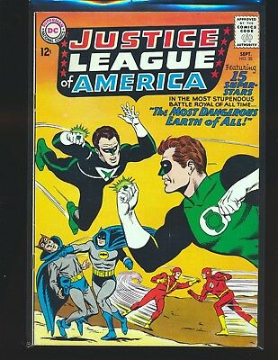 Justice League of America # 30 - JSA crossover VG+ Cond.