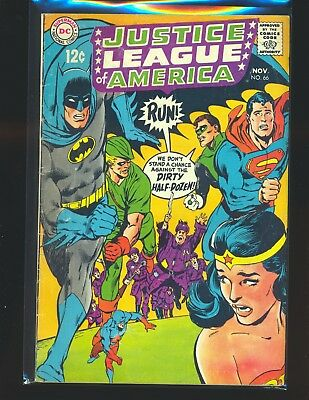 Justice League of America # 66 - Neal Adams cover G/VG Cond.