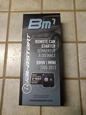 Idatastart Ads-Bm1 T-Harness Remote Start Kit 2005-2013 Bmw Mini Vehicles