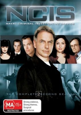W2 BRAND NEW SEALED NCIS : Season 2 (DVD, 2006, 6-Disc Set)