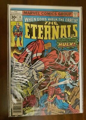 The Eternals #14  (Aug,1977) Bagged and Boarded for 20+ years.