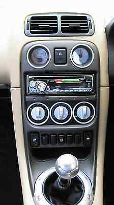 Rover 200 Zr Mgtf Mgf Mg Alloy Heater Controls - Rare !