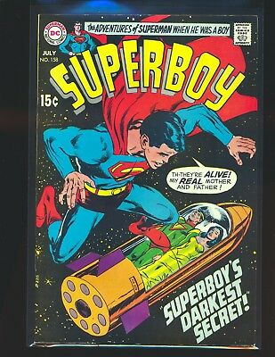 Superboy # 158 - Neal Adams cover Fine Cond.