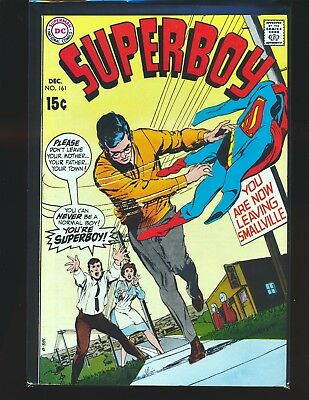 Superboy # 161 - Neal Adams cover Fine/VF Cond.