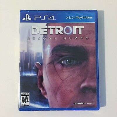 DETROIT Become Human (PS4) BRAND NEW SEALED FAST SHIPPING!!
