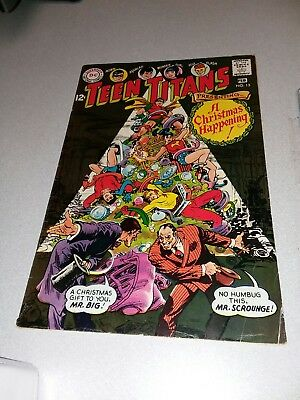 "Teen Titans #13 DC Comics 1968 silver age ""A Christmas Happening"" nick cardy art"