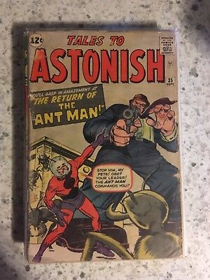 Tales to Astonish 35 1st app of Ant-Man in Costume