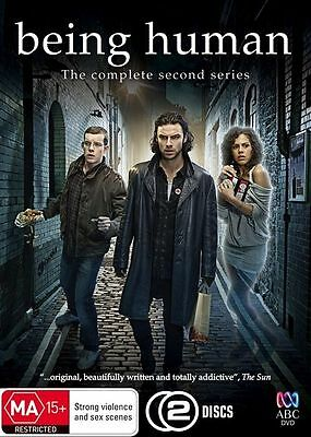 W3 BRAND NEW SEALED Being Human:The Complete Second Series (DVD,2010,2-Disc Set)