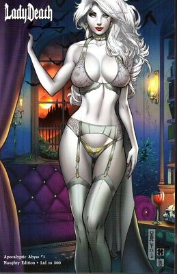 Coffin Comics Lady Death Apocalyptic Abyss #1 Naughty Ed Limited to 500 Signed