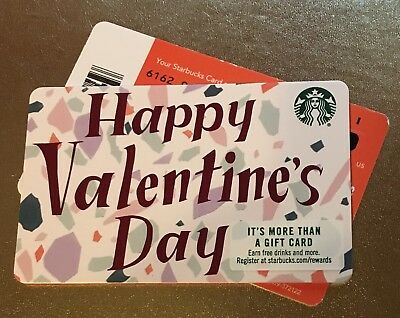 NEW #6162 STARBUCKS RECYCLABLE 2018 HAPPY VALENTINE'S DAY Rare Bar Marker