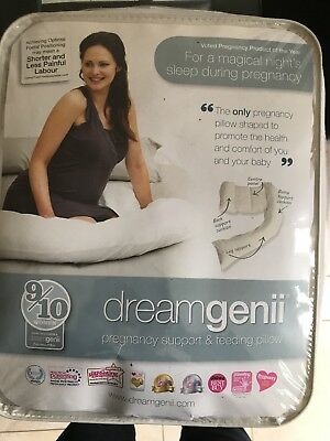 Dreamgenii ESDG000104 Pregnancy Support and Feeding Pillow - White