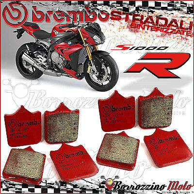 Front Brake Pads Brembo Sa Red Sintered Driving Bmw S1000R 2016