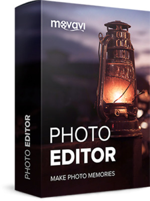 Movavi Photo Editor. Authorised Reseller. Only digital delivery.