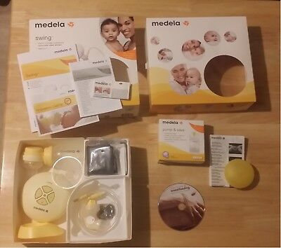 Medela swing 2 Phase electric breast pump Only Used Couple of Times.