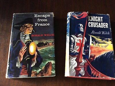 RONALD WELCH KNIGHT CRUSADER & ESCAPE FROM FRANCE Illus WILLIAM STOBBS Pub OUP