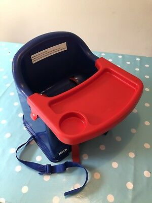 Kd260 Booster Seat (blue) by Kiddywinks Chair Baby Childs Tray Eating Used