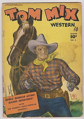 Tom Mix Western #3, Good - Very Good Condition