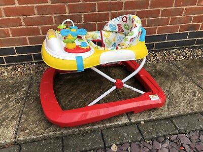 Used Baby Walker Activity Station
