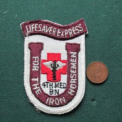Us Army Patch (4 Med Bn)
