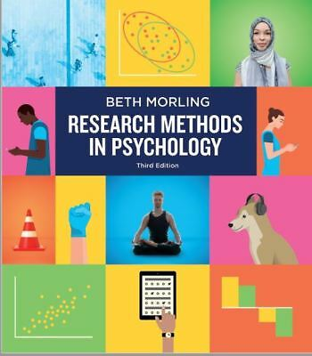 [PDF] Research Methods in Psychology 3rd Edition by Beth Morling 2017 ~ FAST DEL