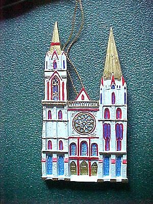 Cathedrals Of The World Christmas Ornament  Chartres Cathedral
