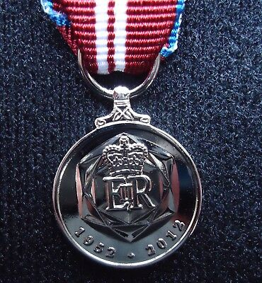The Official British Queens Diamond Jubilee Miniature Medal