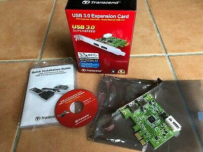 2 Port USB 3.0 PCI Express X1 PC Karte Transcend TS-PDU3