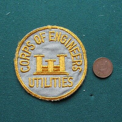 Us Army Patch  (Engr Util)