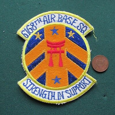 Usaf Air Force Patch (6168 Abs)