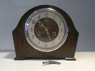 Smiths Enfield 1930s Striking Mantel Clock