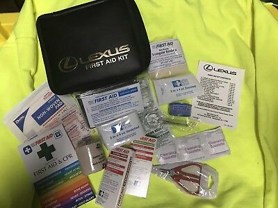 Genuine Toyota Lexus First Aid Kit Compact And Complete Camping Kit Heat Blanket