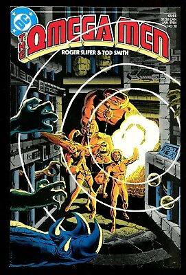 Omega Men 10 (9.4) 1St Full Lobo Keith Giffen (B059)