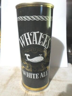 Whales White Ale Airseal-Display  Straight  Steel Beer Can -[Read Description]-