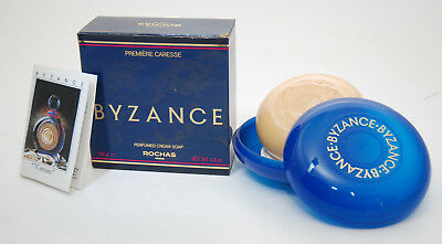 Rochas Byzance Perfumed Soap With Case 150 Gr. Vintage