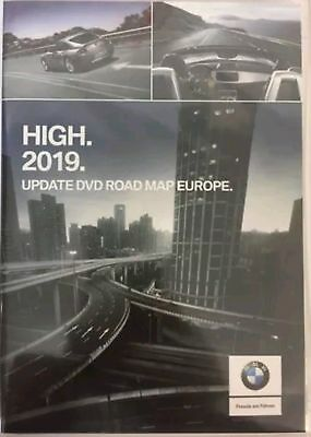 BMW Navigation High Road Map Europe 2019 BEST ON EBAY