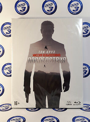 Mission: Impossible-Fallout Collector's Edition Blu-Ray (2 discs set) Region All