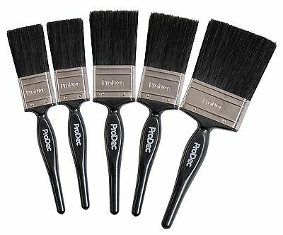 ProDec 5 Piece Trade Pro Paint Brush Decorating Set Synthetic Filament (PBPT029)