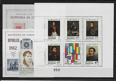 Argentina    1960-74    Mint stamps      - MNH -VF   # Y.T.  Lot 1  ms
