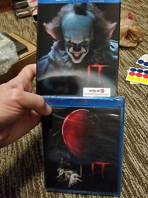 It Blu-Ray DVD Exclusive Lenticular Packaging (Includes postcards) NEW
