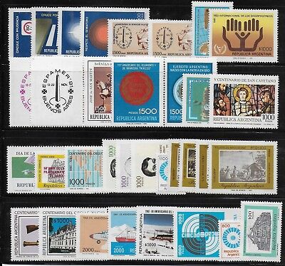 Argentina    1981    Mint stamps      - MNH -VF   # Y.T.  Lot