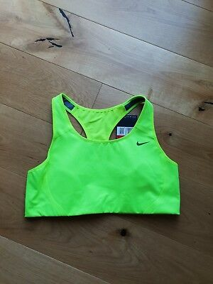 Bnwt Ladies Nike Dri Fit High Support Sports Bra / Top Size Large