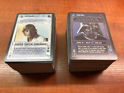 Star Wars CCG SWCCG Premiere Limited Edition complete 324 card set