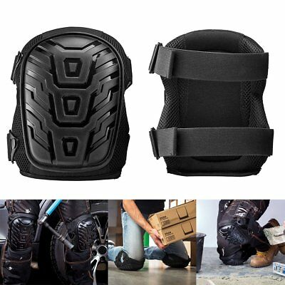 2PC Work Guard Wear Knee Pad Protector Cushion Brace Heavy Duty MMA Sport Adjust