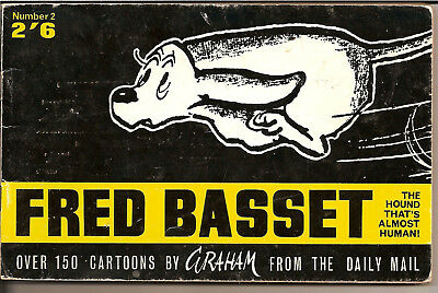 FRED BASSET No.2 by GRAHAM,CARTOONS FROM THE DAILY MAIL