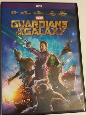 Guardians of the Galaxy (DVD, 2014)previously viewed used