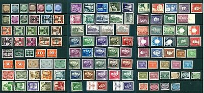 119 POLAND General Government German Occupation Stamps CV $53