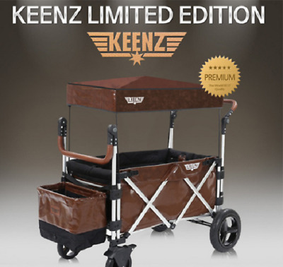 Keenz Wagon Luxury Leather Cover Special Edition(NOT INCLUDE WAGON) Brown Color