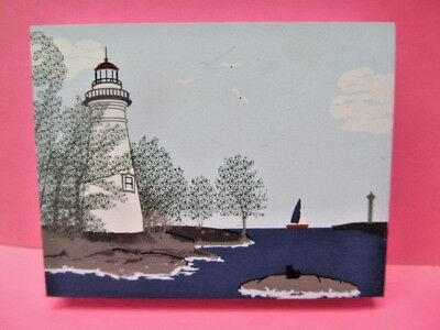 Cats Meow 2000 ~ Lighthouse Series MARBLEHEAD OHIO LIGHTHOUSE & PERRY'S MONUMENT