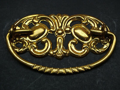 "Antique Style Victorian Drawer Pulls, Furniture Bail Vintage, Cc 3"" Solid Brass"