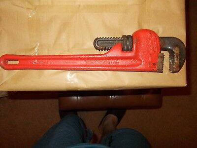 Rothenberger Heavy Duty Pipe Wrench - 14inch 350mm Heavy duty